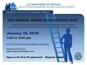 Flyer - Fed Exec Webcast Series Women in the Executive Suite    final